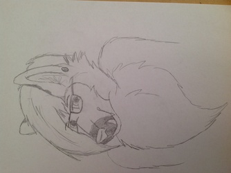 Crunchy Bust Sketch