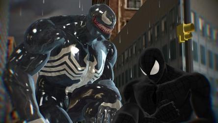 Mike parker symbiote Spideman and venom Symbiote love part 1