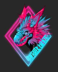 Butcher Rabbit Badge~