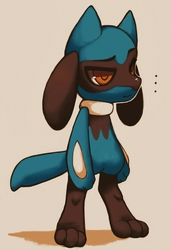 ♥ lil disappointed riolu ♥