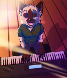 Let's Make Music together.. (Commission Art)