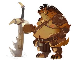 Gulrex Iron Fang