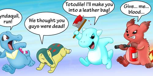 Revenge of the Lost Johto Starters