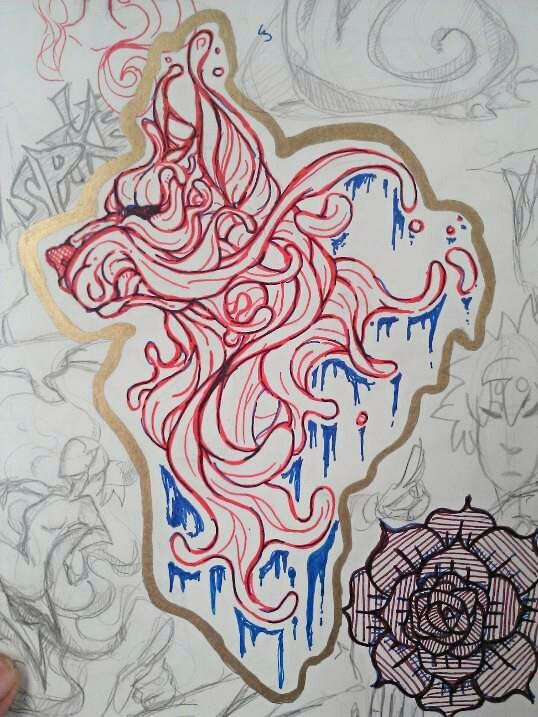 melted sketch