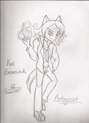 Character Drawcember Week 1 - Antagonist