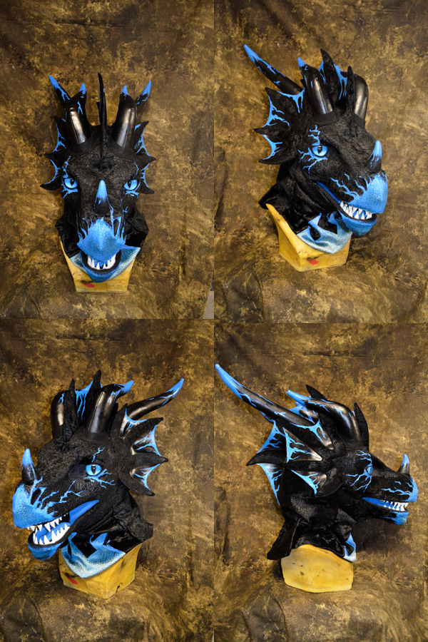 Most recent image: Storm Dragon the Wyvern Head