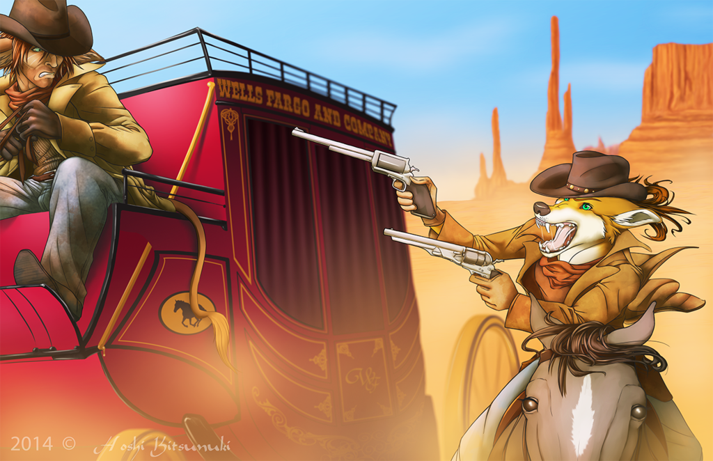 Commission: ~ The Great Stagecoach Robbery ~