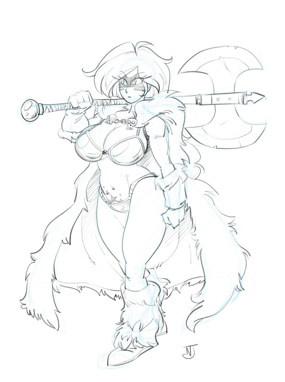 Barbarian Fae