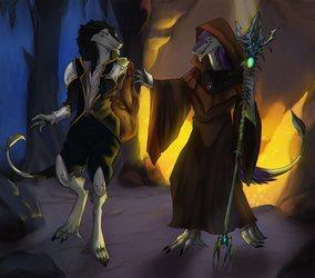 The sergal adventurers