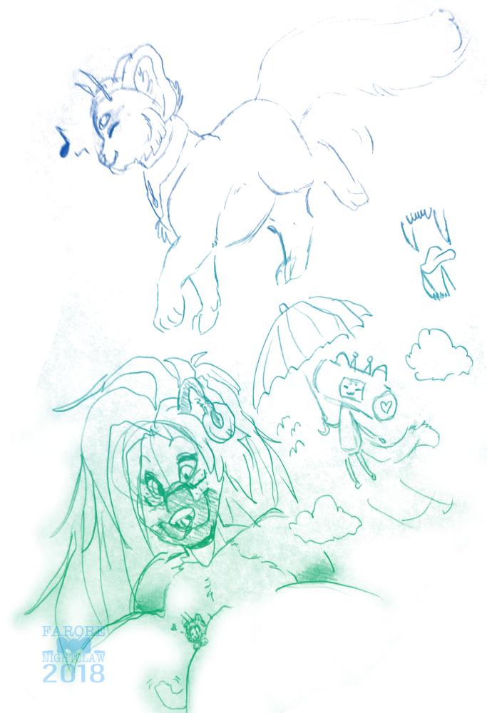 Sketchbook Doodles 3/9/18
