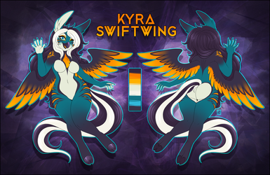 Kyra Swiftwing Refsheet