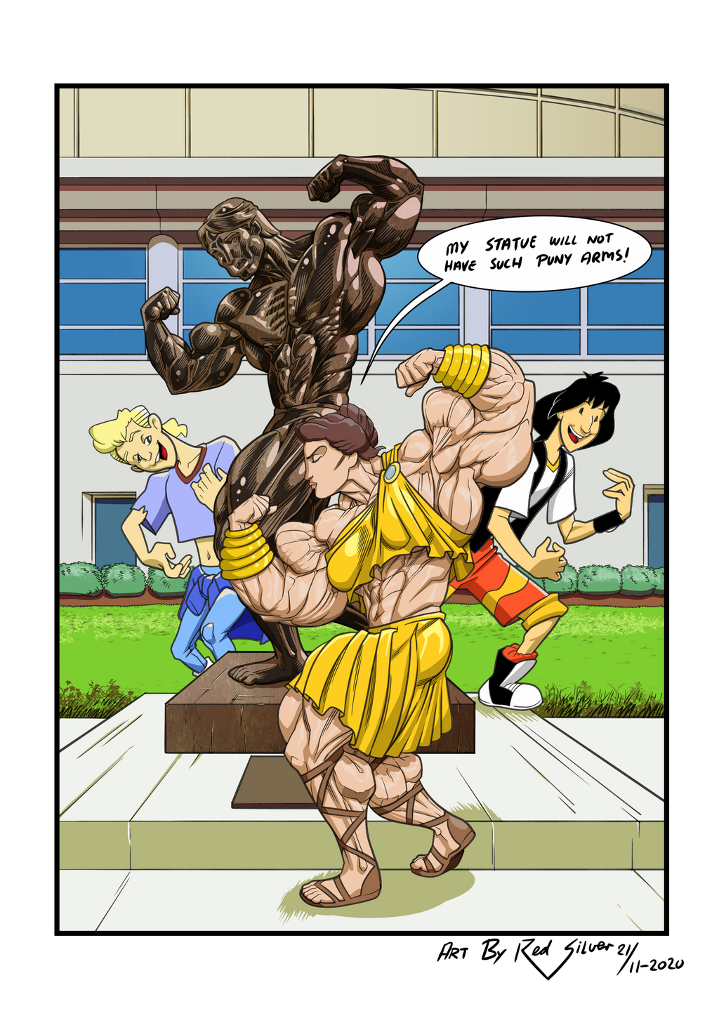 Muscle Waifu Excellent Adventures Entry