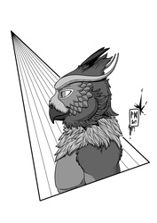Ink-Profile N°35:Vesper Draco, the Owl Dragon