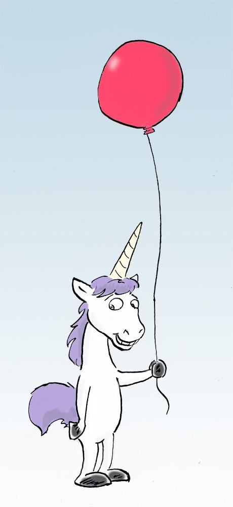 Most recent image: unicorn day