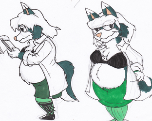 Dr. Girl Gaomon 111215 sketch