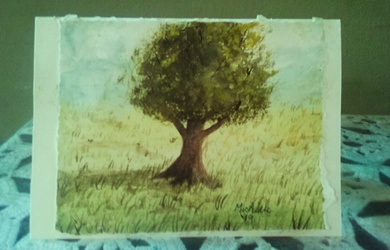 The Summer Tree Greeting Card