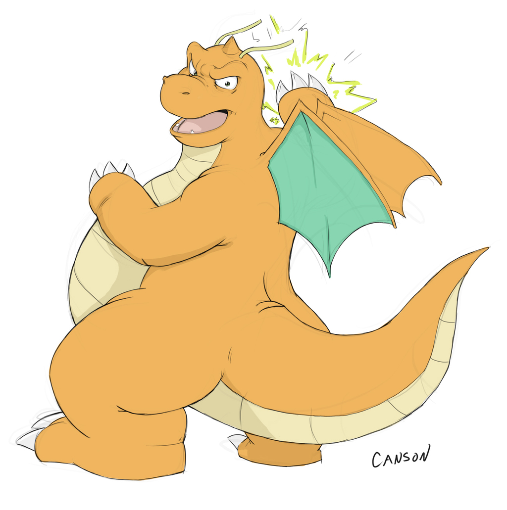 Dragonite used Thunder Punch!