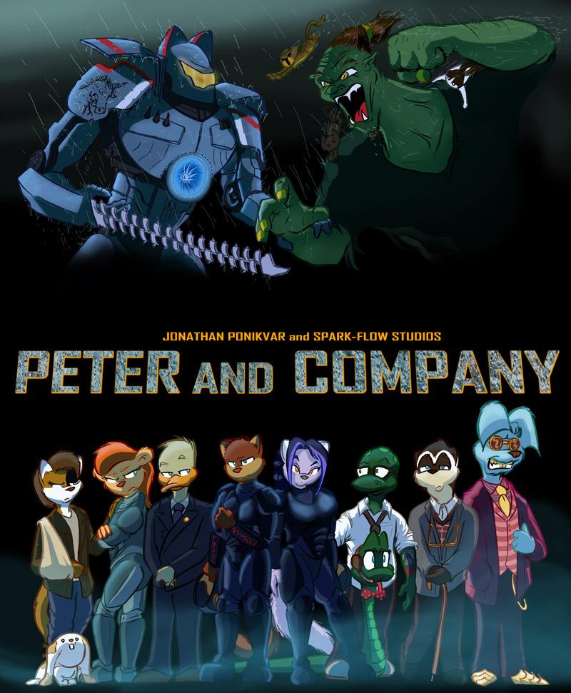 Peter & Company Halloween 2013: Pacific Rim