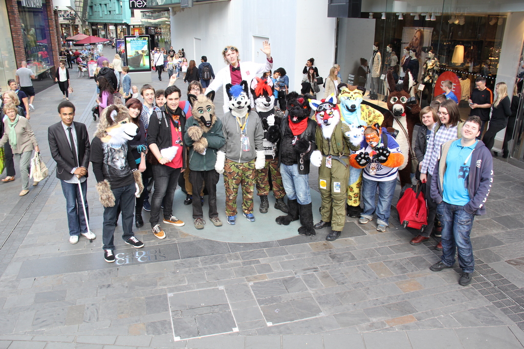 Bristol Furmeet September 2015 Group Photo