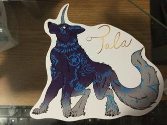 [Comm] Custom Sticker - Tala