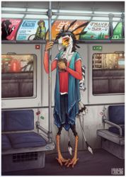 // in transit