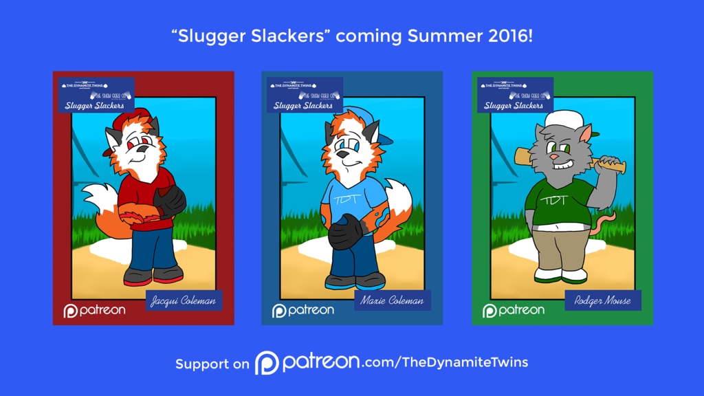 Slugger Slackers Patreon Preview #2