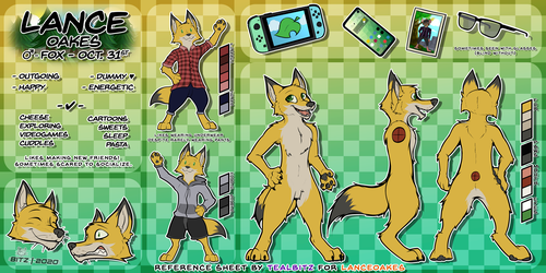 [C] Reference Sheet for Lance
