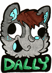 Dally Derp Badge