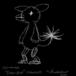 """""""Deer-Bird"""" Concept art"""