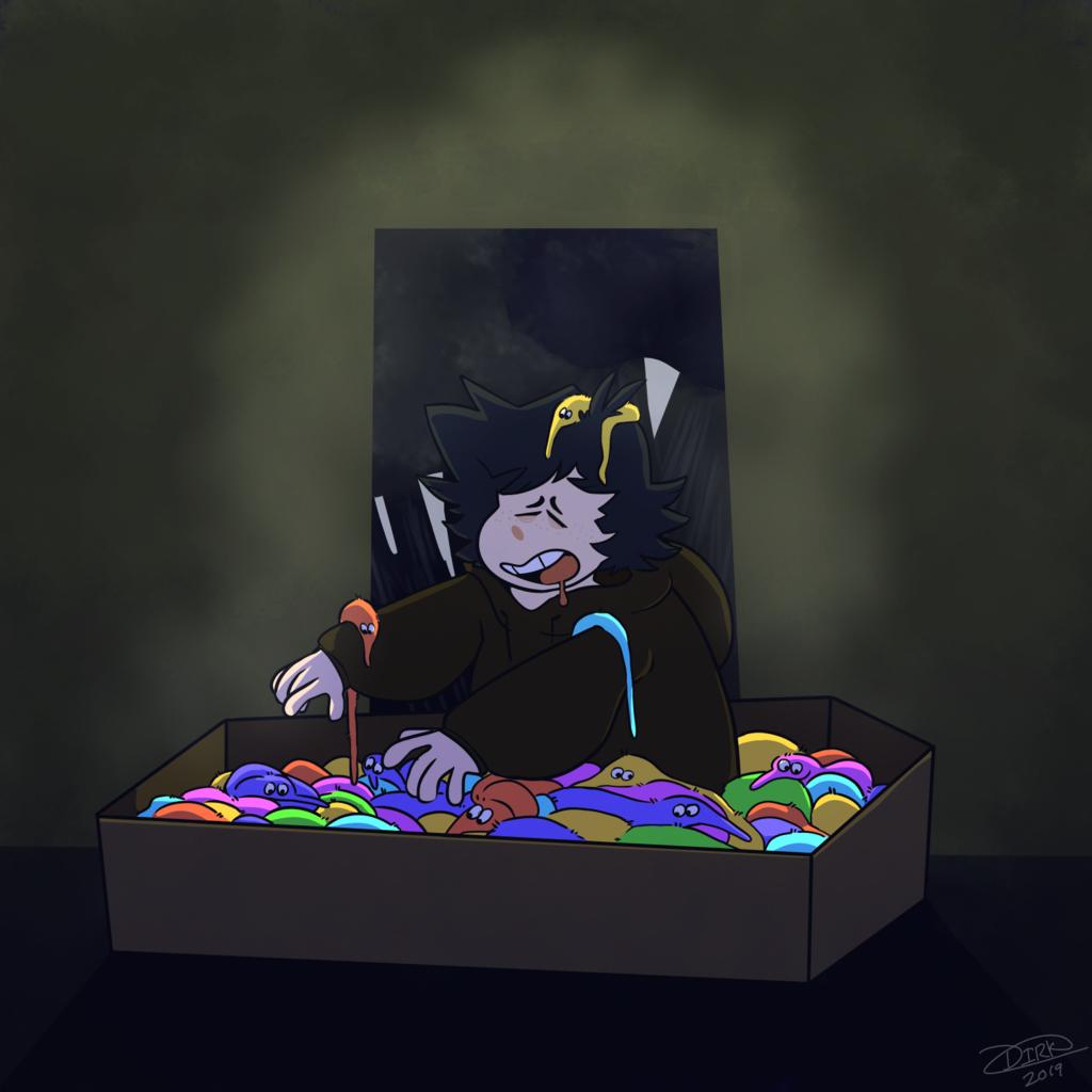 Worm Coffin