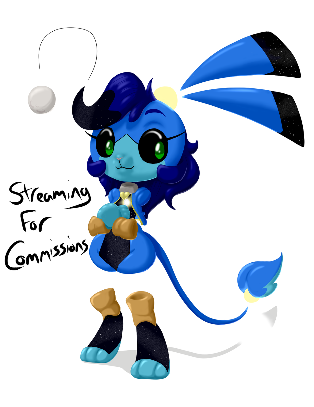 Streaming for Commissions