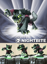 Fan Skylander: Nightbite