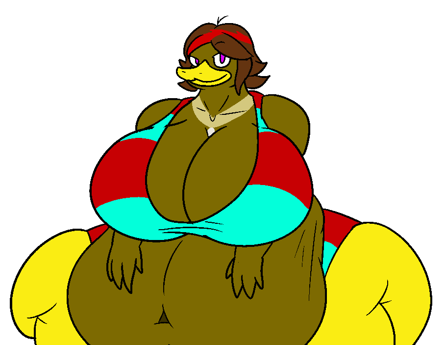 Portrait of a Duck Lady