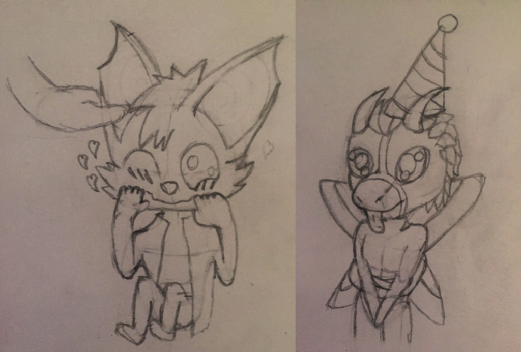 Chibi Including Late B-day Gift