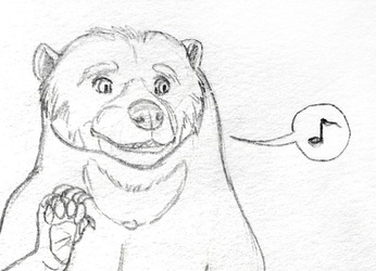 The Biggest Sun Bear of Them All :D