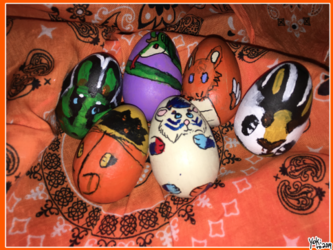 [P] Easter Egg Set Sonas and Friends