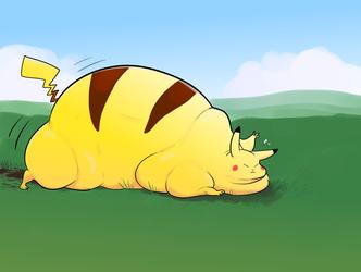 Pikachu Used Strength!