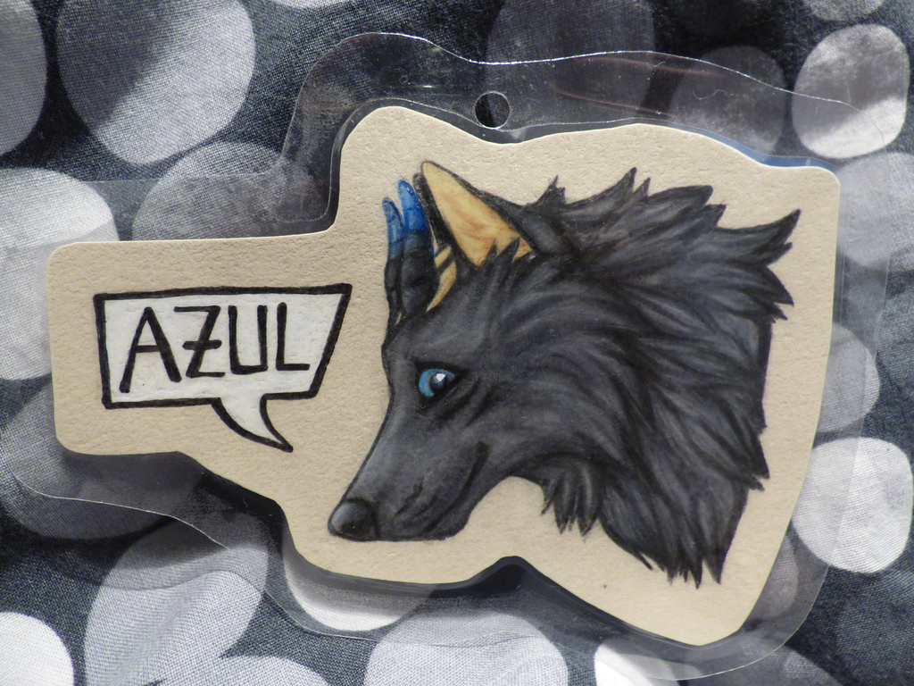 Azul Headshot Badge
