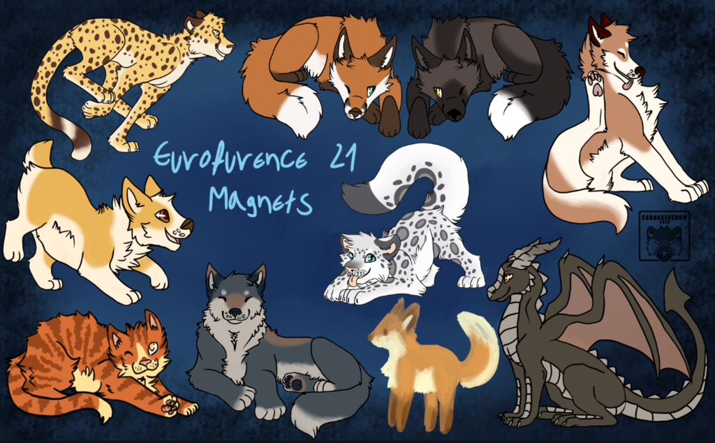 Eurofurence 21 - Digital Magnets Preview