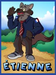 """[Commission]""""Étienne Badge"""