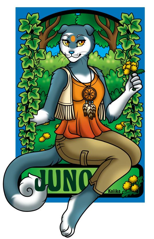 Badge - Juno
