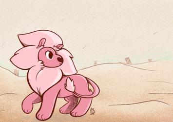 :SU: Lion in the Desert