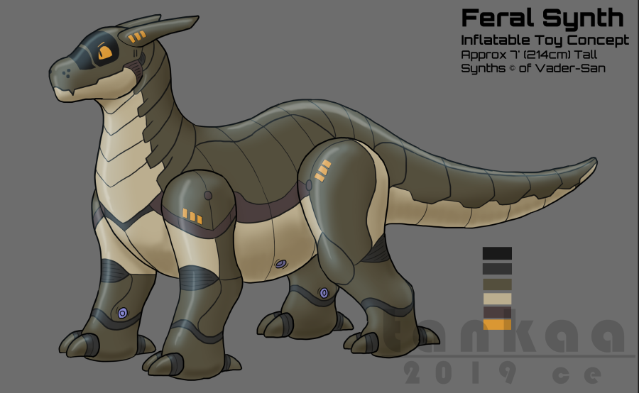 Most recent image: Feral Synth Toy Concept