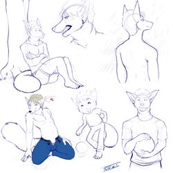 Sketch Sheet (Rei)