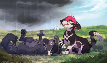 Melodramatic YCH Finished Example 2