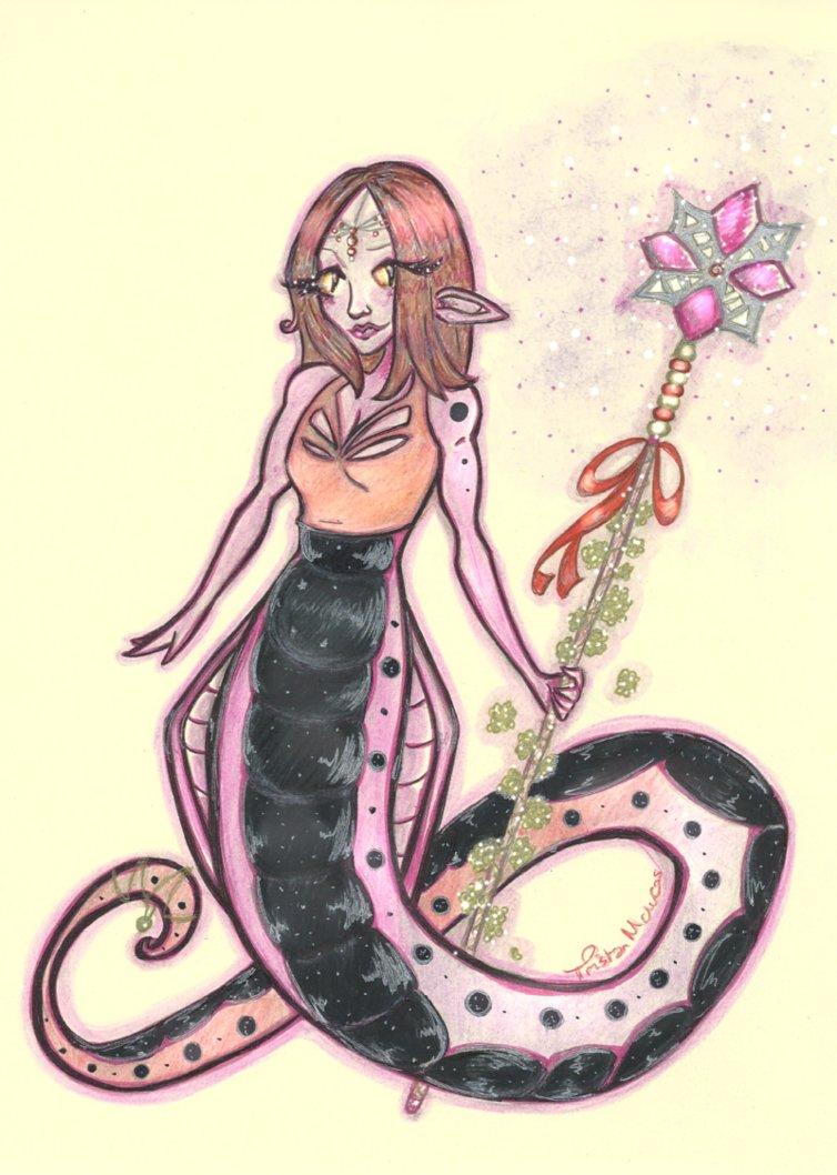 Purple Naga for Jacqueline