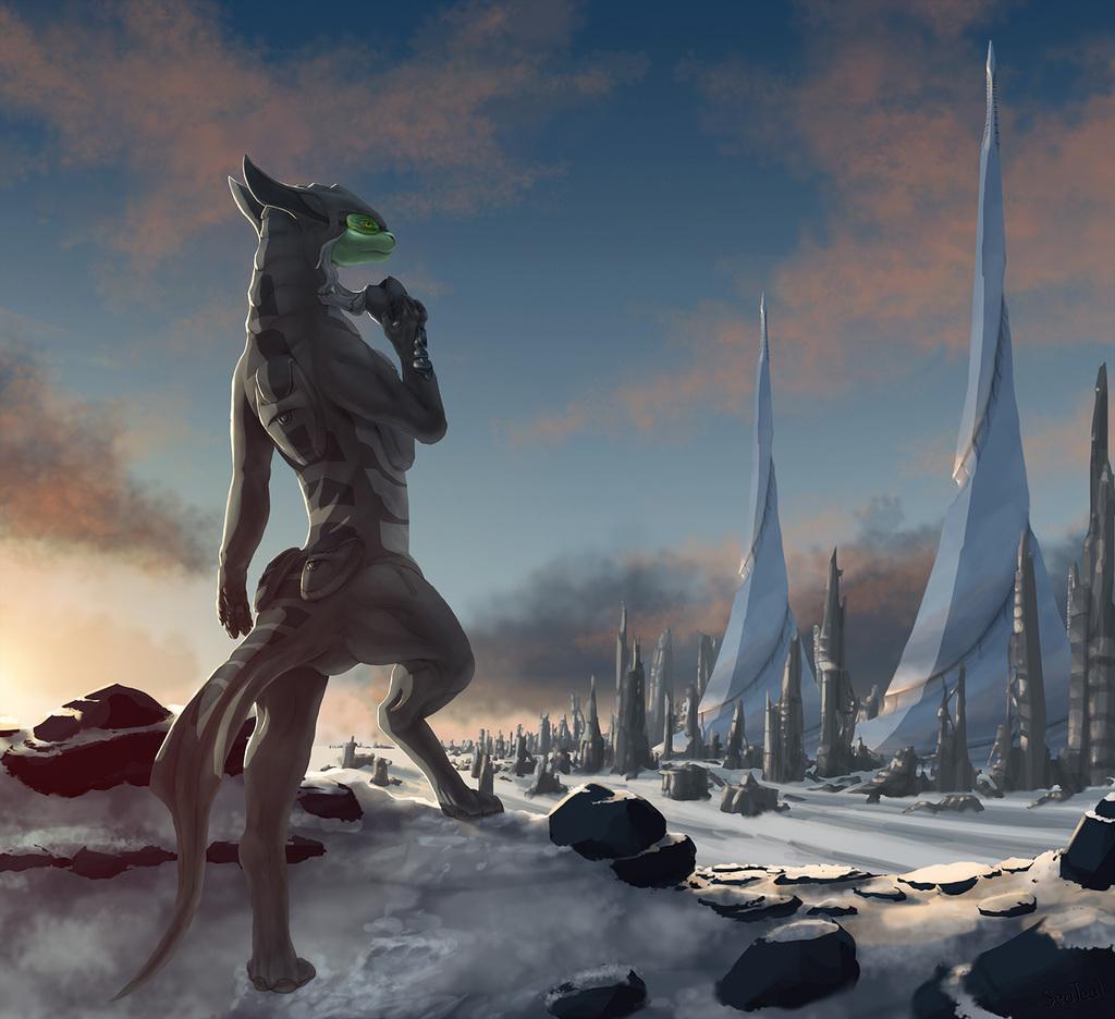 Most recent image: (comm.) Frozen Dusk