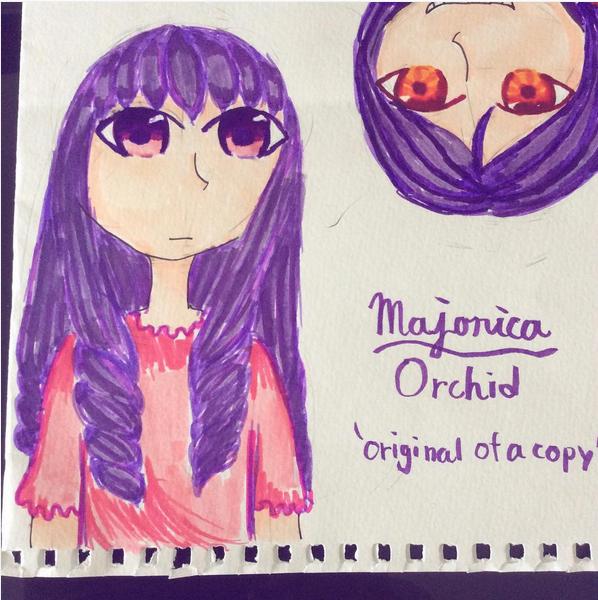 Majorica Orchid