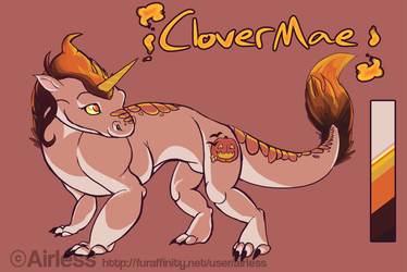 Turn Clovermae into a dragon!