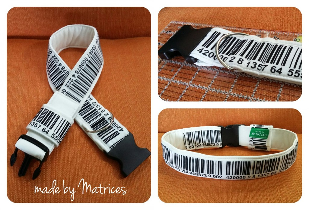 Most recent image: The last barcode collar! (Auction ends Monday!)